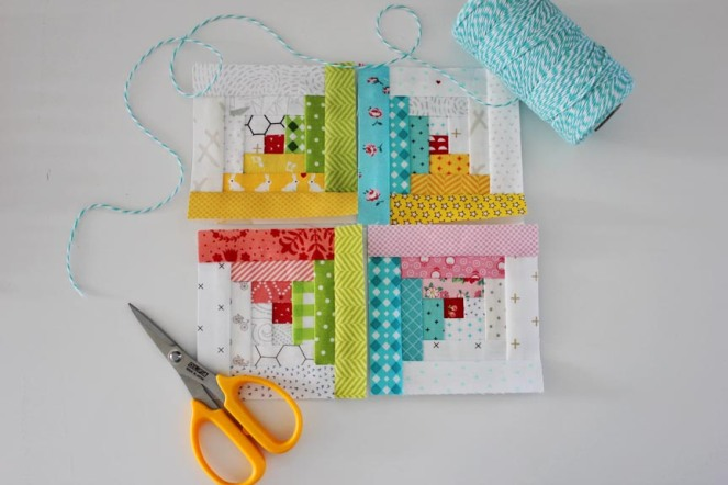 Log Cabin Blocks FPP Tutorial