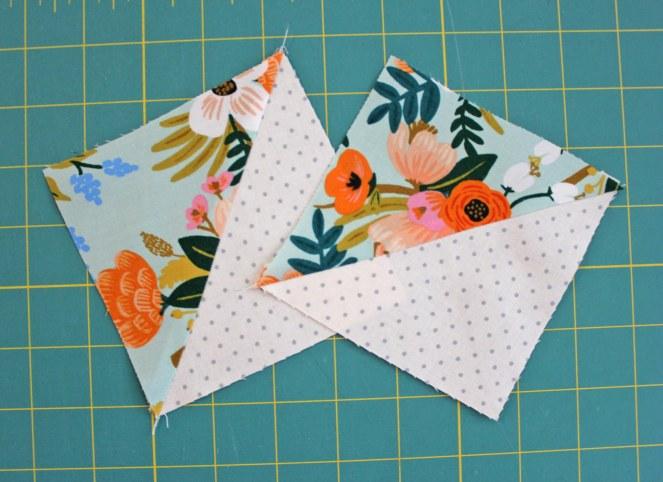 7_Half_Square_Triangles_sewn